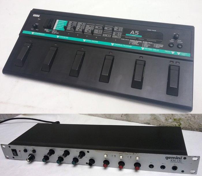 effects rack for bass guitar korg a5