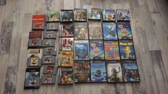 Lot of 34 Nintendo games  N64  GameCube  GBA   Catawiki Lot of 34 Nintendo games  N64  GameCube  GBA