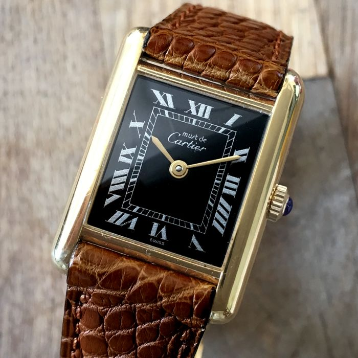 Must de Cartier Tank Vintage   Women    s Watch   1978   Catawiki Must de Cartier Tank Vintage   Women    s Watch   1978