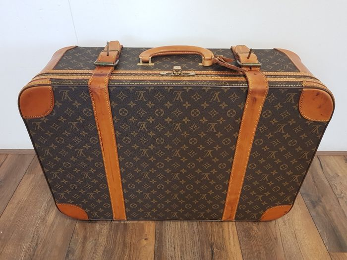 fdd8c27d985 Louis Vuitton Stratos 70 Vintage Travel Bag Suitcase Catawiki. Vintage Louis  Vuitton Monogram 50 Keepall ...