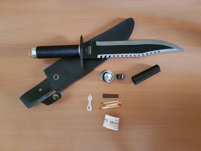 """Rare Knife of the Second Rambo movie, Rambo: """" First Blood ..."""