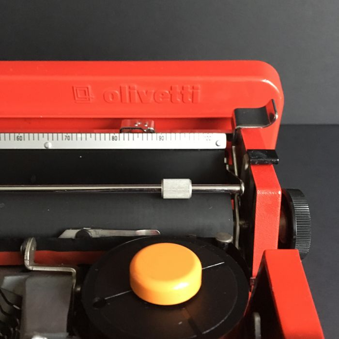 Ettore Sottsass Amp Perry King For Olivetti Typewriter