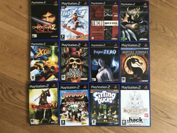 Lot of 20 Playstation 2  PS2  Games with booklets   rare games such     Lot of 20 Playstation 2  PS2  Games with booklets   rare games such as