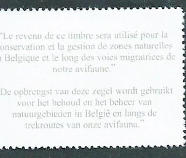 Belgium 1999 A Buzin Numbered Illustration