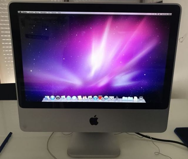 Imac In Good Condition With Keyboard 2 4 Ghz Intel Core Duo