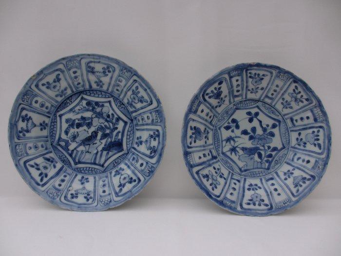 Two plates - Porcelain - China - Wanli (1573-1619) - Catawiki