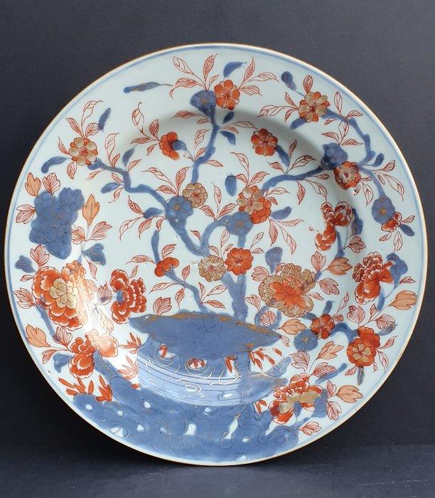 Plate (1) - Imari - Porcelain - Beautiful fully decorated Kangxi Imari plate - Mint Condition - China - Kangxi (1662-1722) - Catawiki