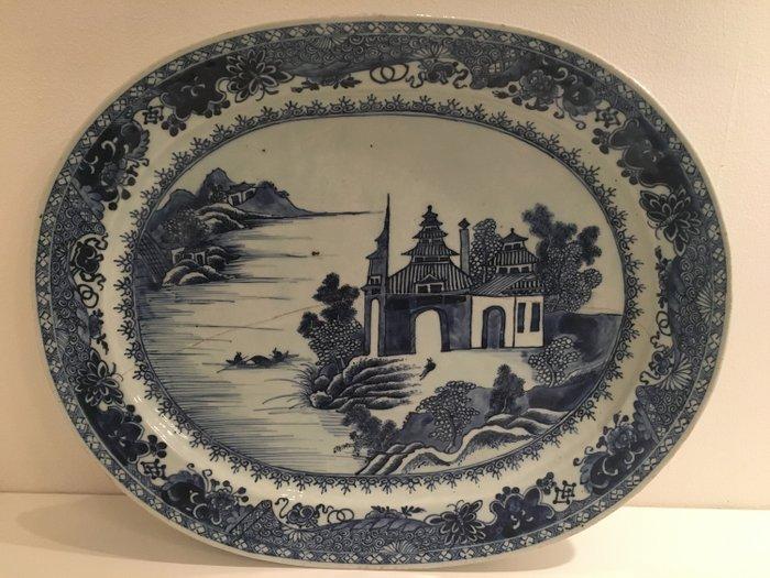 Charger - Porcelain - Qianlong 44 cm - China - 18th century - Catawiki
