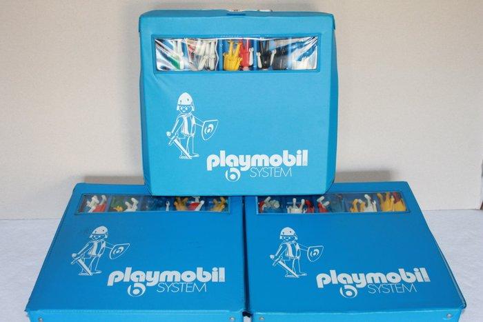playmobil vintage 3 boites de