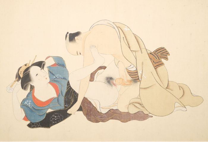 Shunga book with twelve erotic designs - Meiji period (1868-1912) - Catawiki