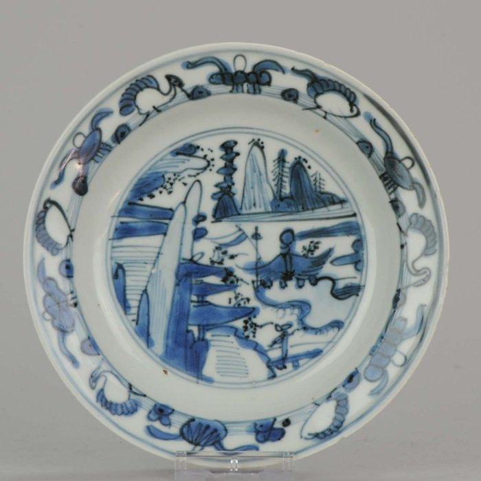 Plate - Porcelain - Wanli/ Jiajing period - China - 17th century - Catawiki