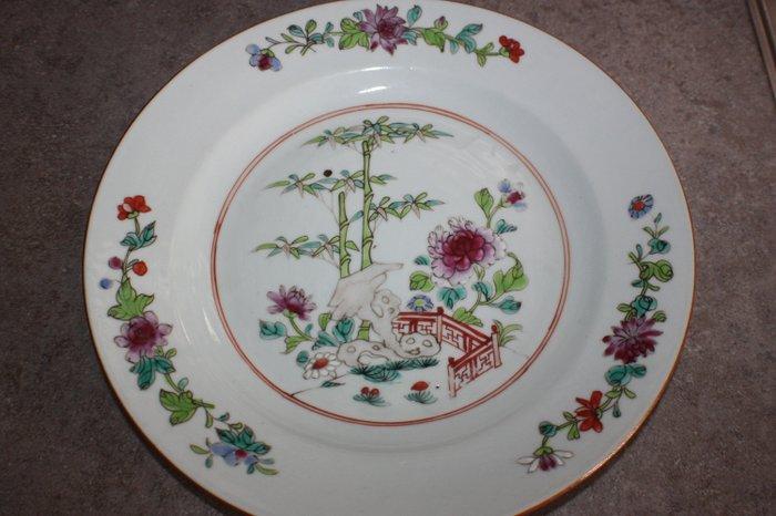 Plate - Famille rose - Porcelain - China - Qianlong (1736-1795) - Catawiki