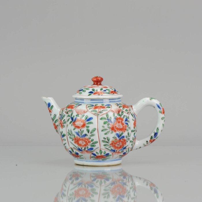 Pot - Famille verte - Porcelain - Kangxi LOTUS - China - ca 1700 - Catawiki