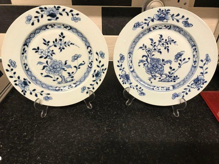 Plates (2) - Porcelain - Nanking Cargo - China - 18th century - Catawiki