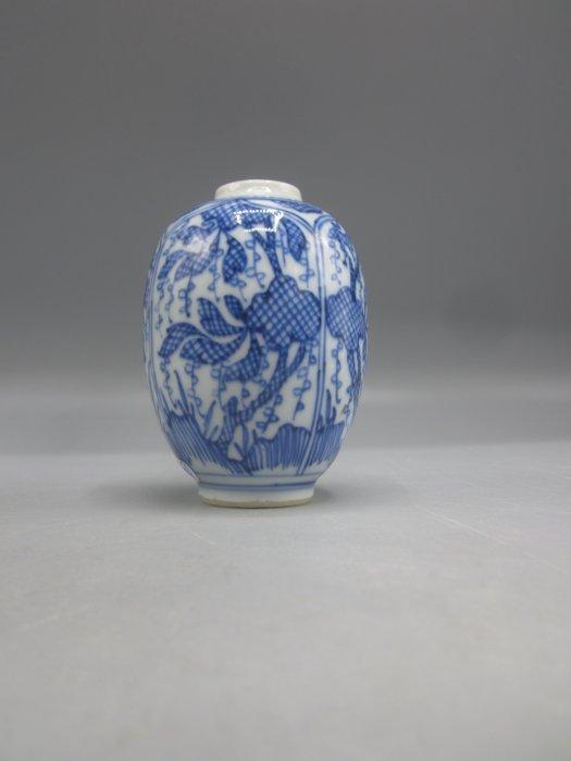 Tea caddy (1) - Porcelain - China - Kangxi (1662-1722)
