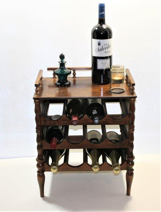 vintage wine cabinet wine rack 1