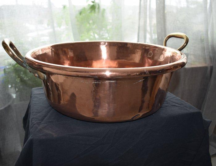 ancienne bassine a confitures 1