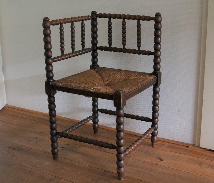 chaise chaise d angle bois roseau