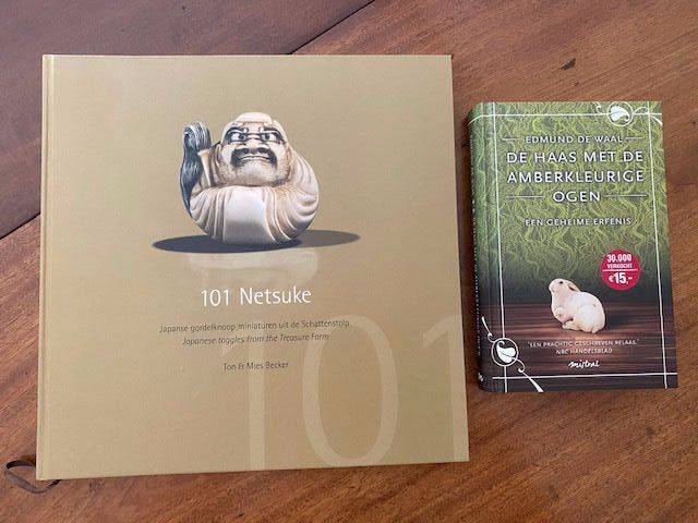 Two books on netsuke collections - Japan - 21st century