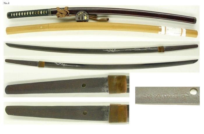 Katana (1) - Steel - Samurai - Katana (刀) signed Hakushu-ju Tomofusa (伯州住友房) - Japan - 17th century