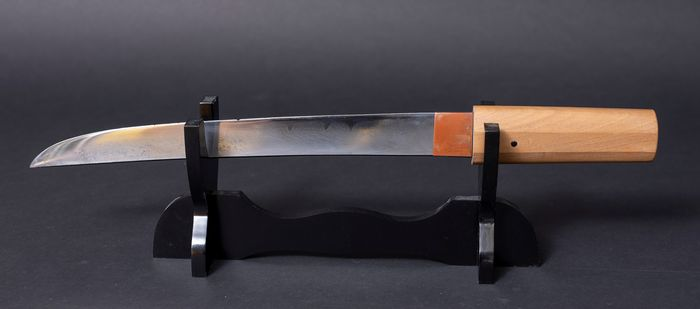 Dagger, Tanto - Tamahagane - Grote Tanto in Shirasaya - Japan - Edo Period (1600-1868)