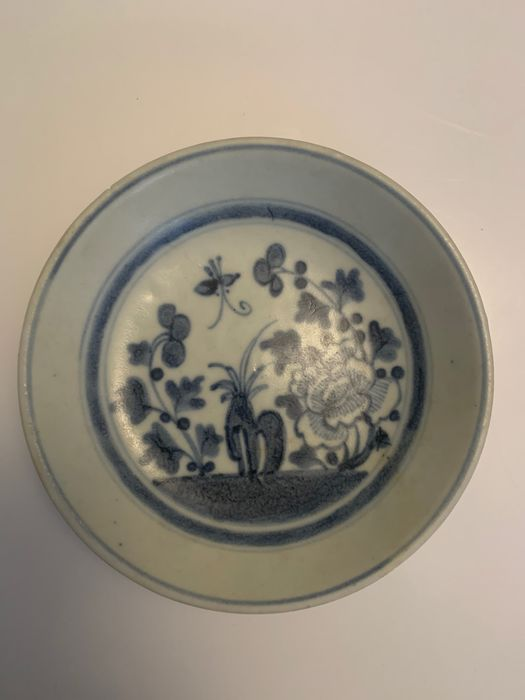 Plate (1) - Porcelain - China - Qing Dynasty (1644-1911)