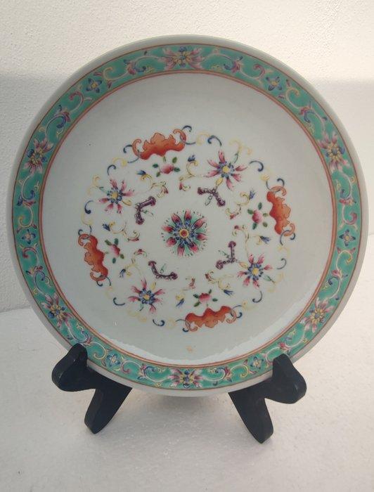 Dish (1) - Porcelain - China - Qing Dynasty (1644-1911)
