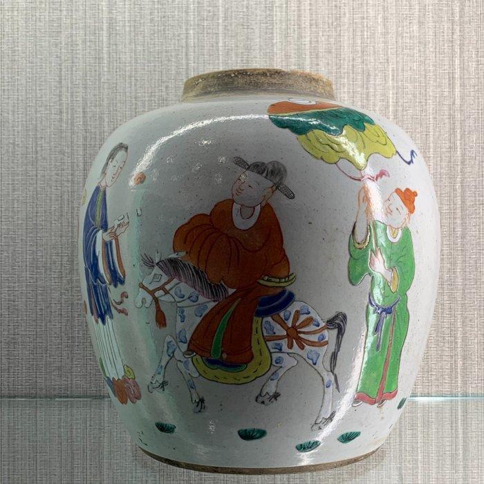 Ginger jars (1) - Famille rose - Porcelain - China - Qing Dynasty (1644-1911)