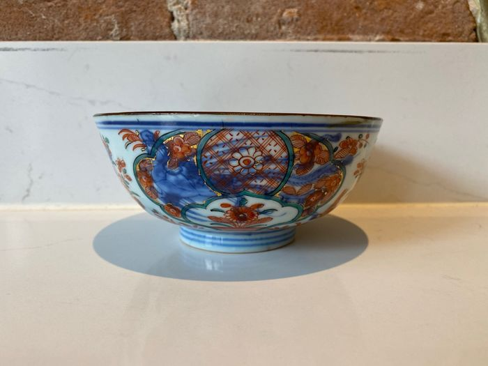 Amsterdams Bont Chinese porcelain bowl, with seal mark - Porcelain - China - 18th century