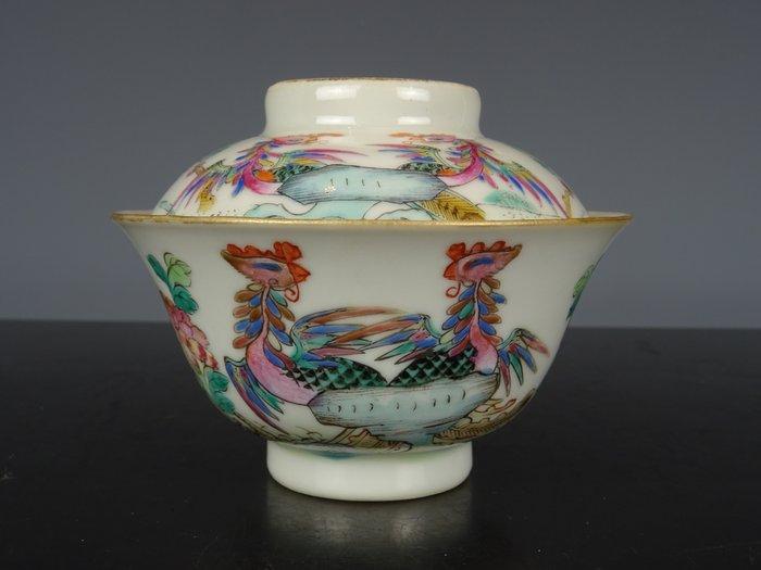 lidded bowl - Porcelain - China - 19th century