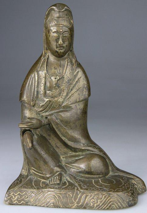 Buddha Kwanyin statue 18th to 19th century - Bronze - China - 19th century