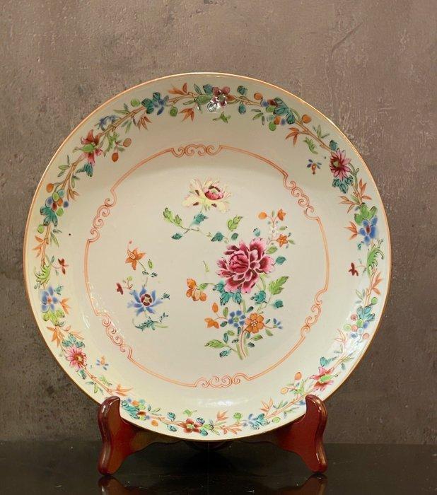 Plate (1) - Blanc de chine - Porcelain - China - 18th century