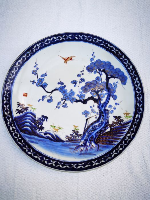 Plate - Imari - Porcelain - Japan - Meiji period (1868-1912)