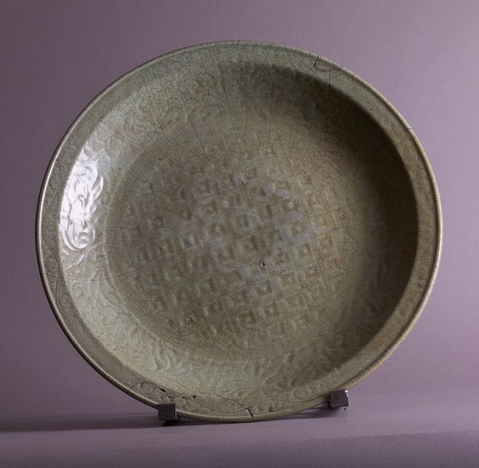 Charger, Plate - Celadon - Porcelain - China - Ming Dynasty (1368-1644)