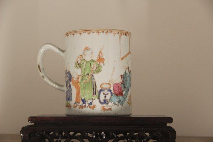 Mug (1) - Porcelain - China - 18th century