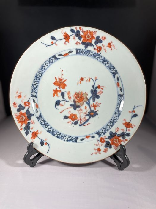 Dish, Plate (1) - Famille rose - Porcelain - China - 18th century