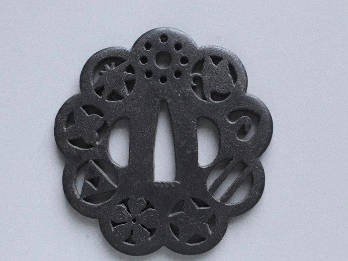 Tsuba - iron - Japan - Edo Period (1600-1868)