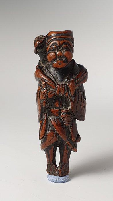Netsuke (1) - Wood - NO RESERVE PRICE - Japan - Edo Period (1600-1868)