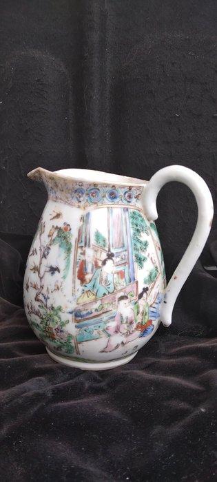 milk jug (1) - Famille rose - Porcelain - China - 19th century