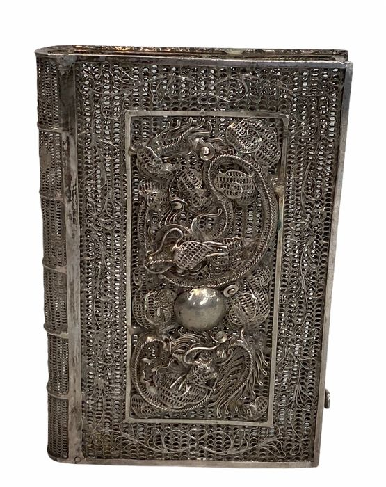 card case - Silver - China - Qing Dynasty (1644-1911)