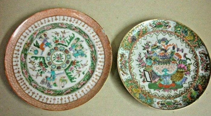 Plate (2) - Ceramic - China - 19th century