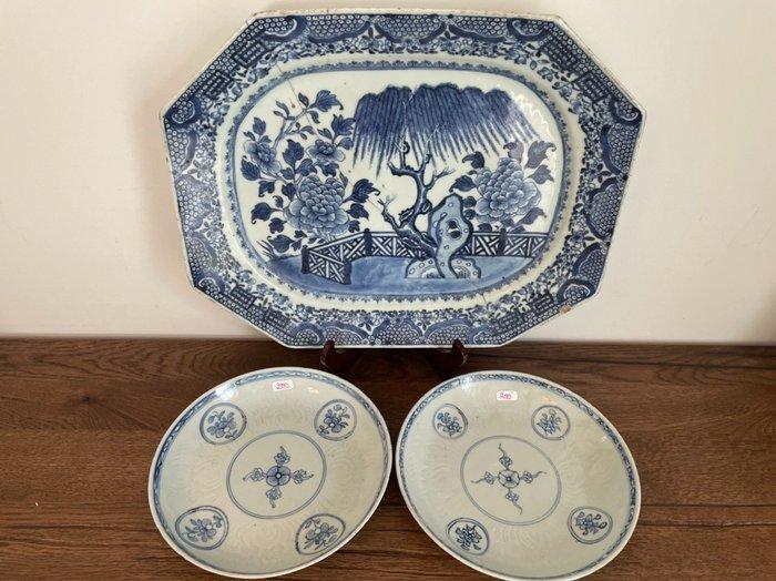 Plates (3) - Porcelain - China - Qianlong (1736-1795)