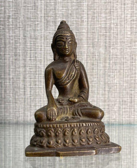 bronze figure (1) - Bronze - Buddha - China - Qing Dynasty (1644-1911)