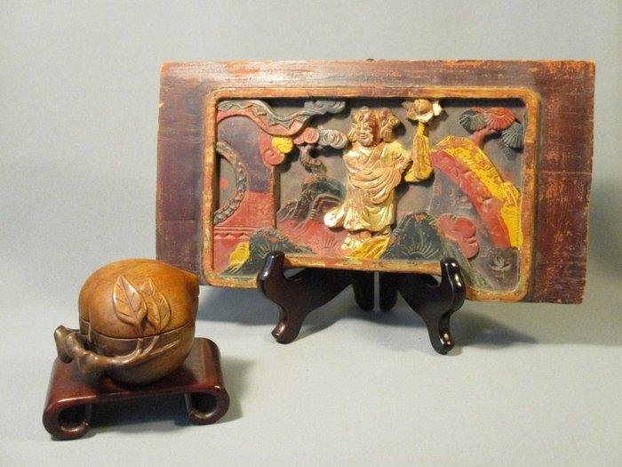 Wood carving - Wood - China - Qing Dynasty (1644-1911)