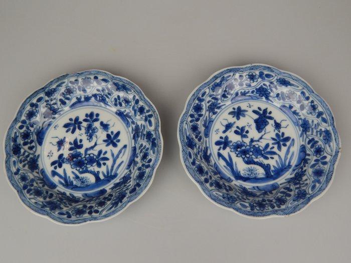 Plates (3) - Porcelain - China - Kangxi (1662-1722)