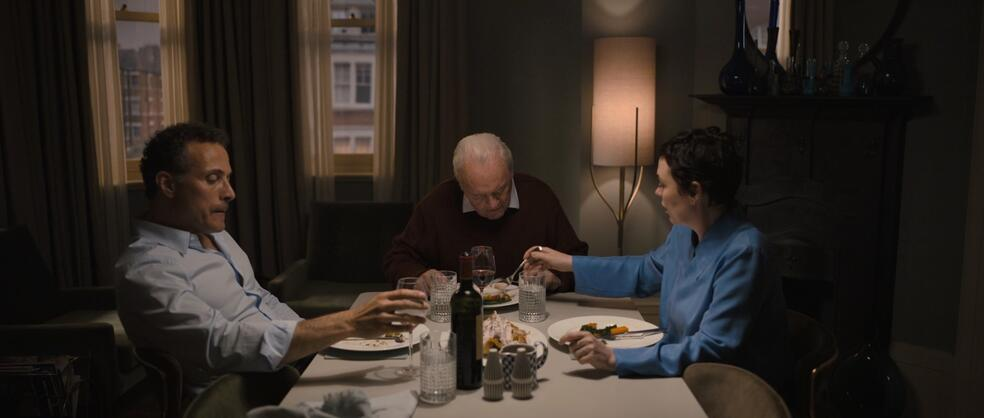 The Father mit Anthony Hopkins, Rufus Sewell und Olivia Colman