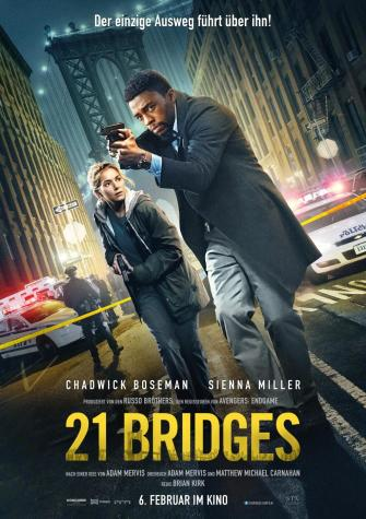 21 Bridges Plakat