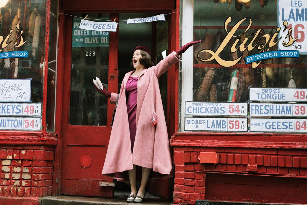 The Marvelous Mrs. Maisel, The Marvelous Mrs. Maisel - Staffel 1 mit Rachel Brosnahan