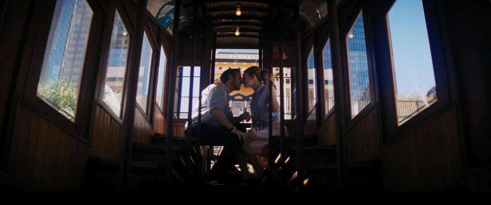 La La Land mit Ryan Gosling und Emma Stone