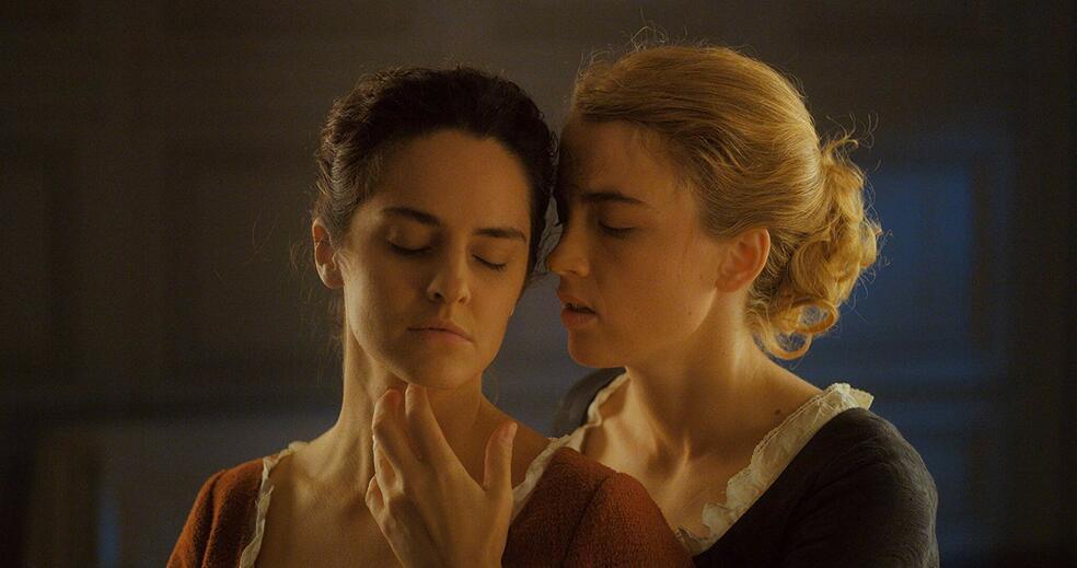 Portrait of a Lady on Fire mit Adele Haenel und Noémie Merlant
